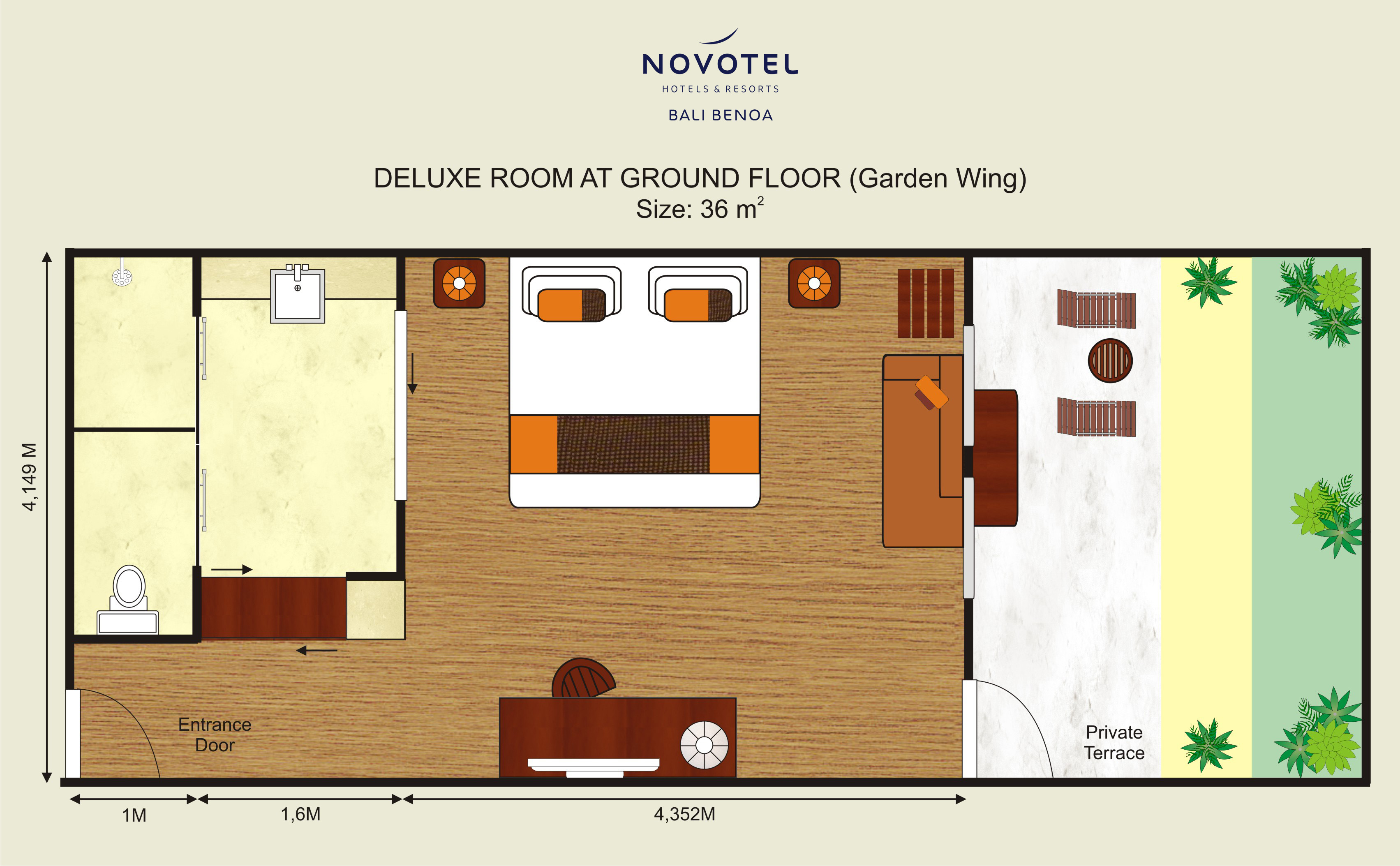 Deluxe Room Novotel Bali Benoa Hotels Amp Resorts