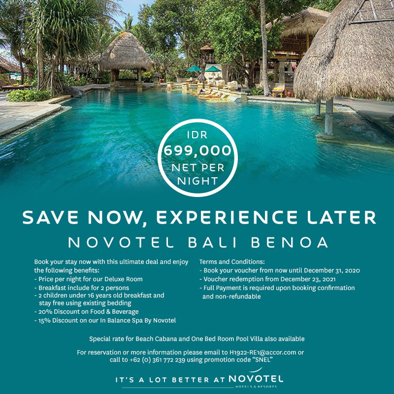 Save Now Experience Later